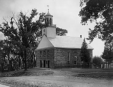 photo of the church dated around 1890