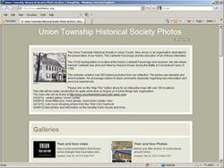 Union Township Historical Society photo gallery