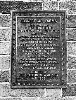 Bronze plaque on the original structure